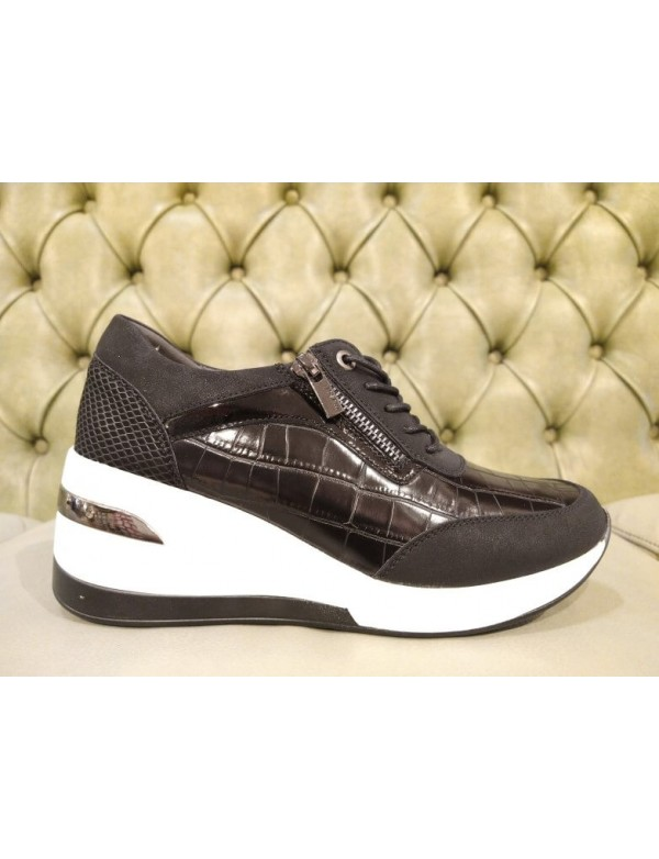 Wedge sneakers shoes for women