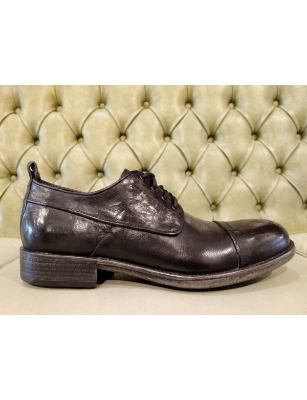 Men's shoes Italian made, black leather