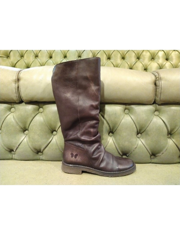 Felmini boots in brown leather
