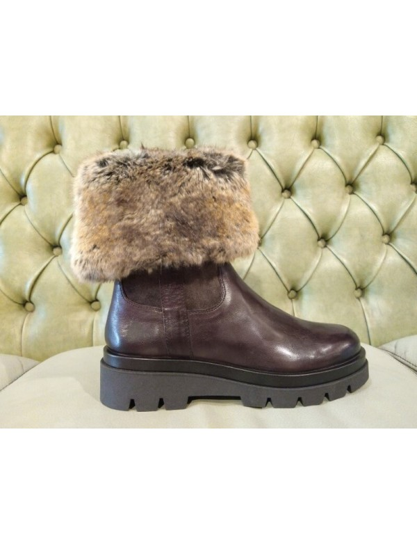 Boots with fur inside, made in Italy