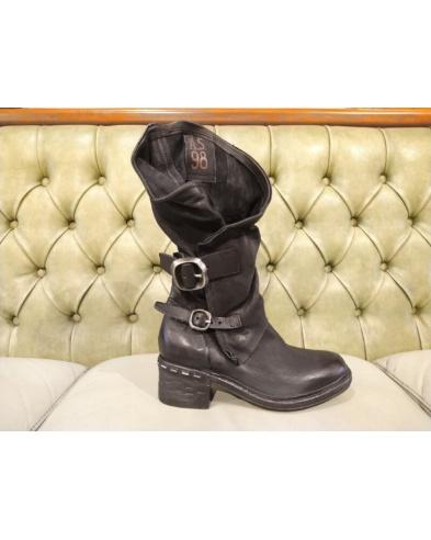 Stivali con tacco medio, stile casual AS98