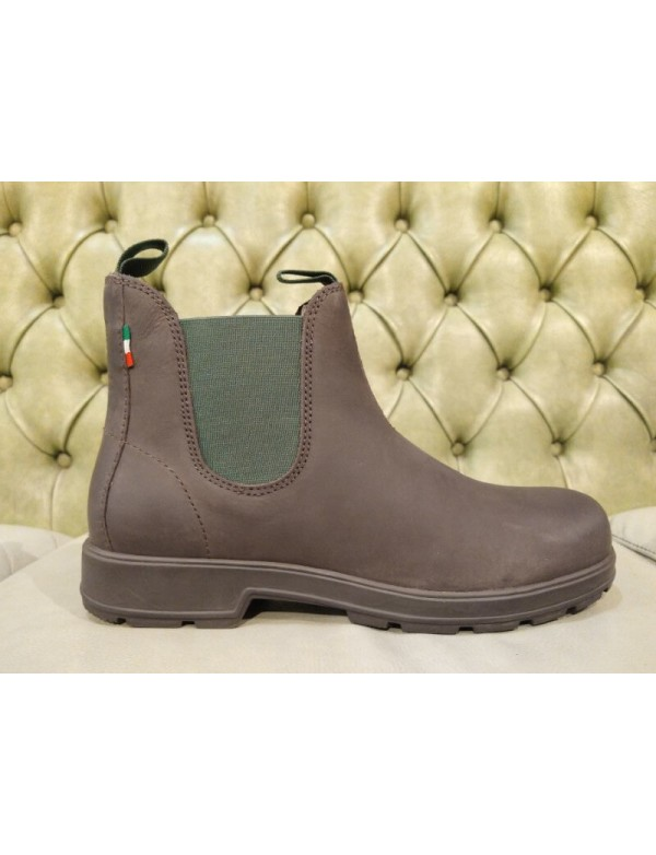 Pull on chelsea boots, by Marina Militare