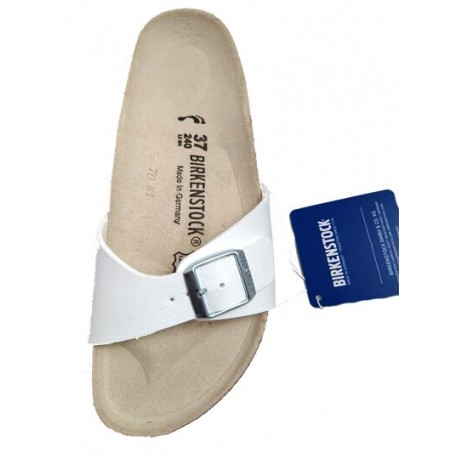 Birkenstock Madrid sandal, all white