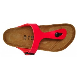 Birkenstock Gizeh thong sandal, patent red