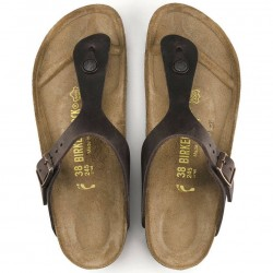 Birkenstock Gizeh Habana, Oiled Leather