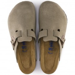 Birkenstock Boston slip-on clog, taupe