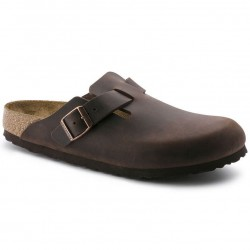 Birkenstock Boston closed sandals, habana