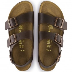 Birkenstock Milano sandal, brown color