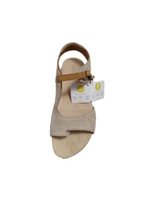 Suede leather thong sandals