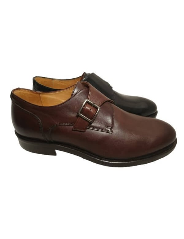Monk strap shoes, made in Italy