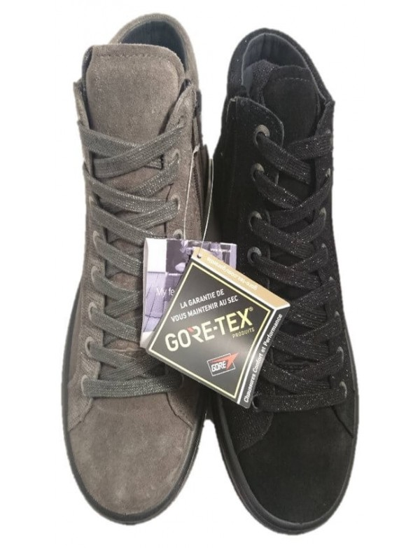 Sneakers alte con cerniera laterale, by Legero