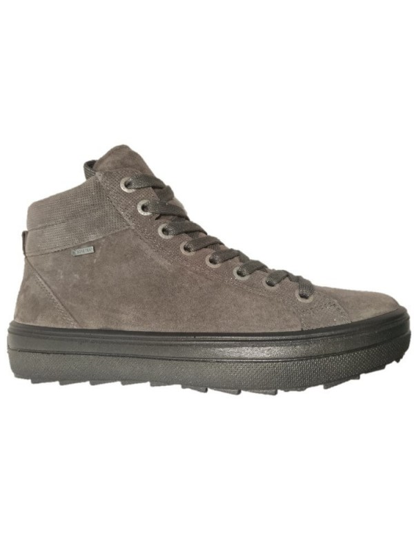 High top sneaker with zipper, by Legero