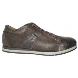 Casual leather shoes for men, made in Italy