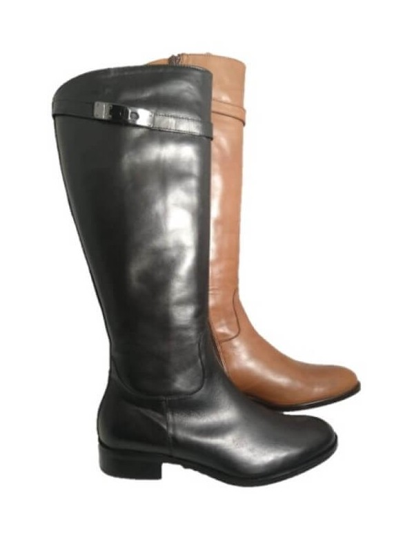 Italian long riding boots, by Dénouée