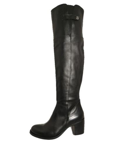 Stivali di pelle sopra il ginocchio, by Bouu