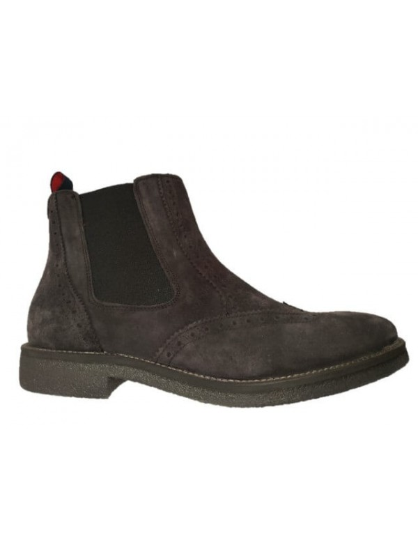 Wingtip chelsea boots for men, made in Italy