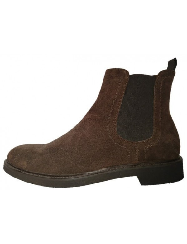 Pull on ankle boots for men, made in Italy