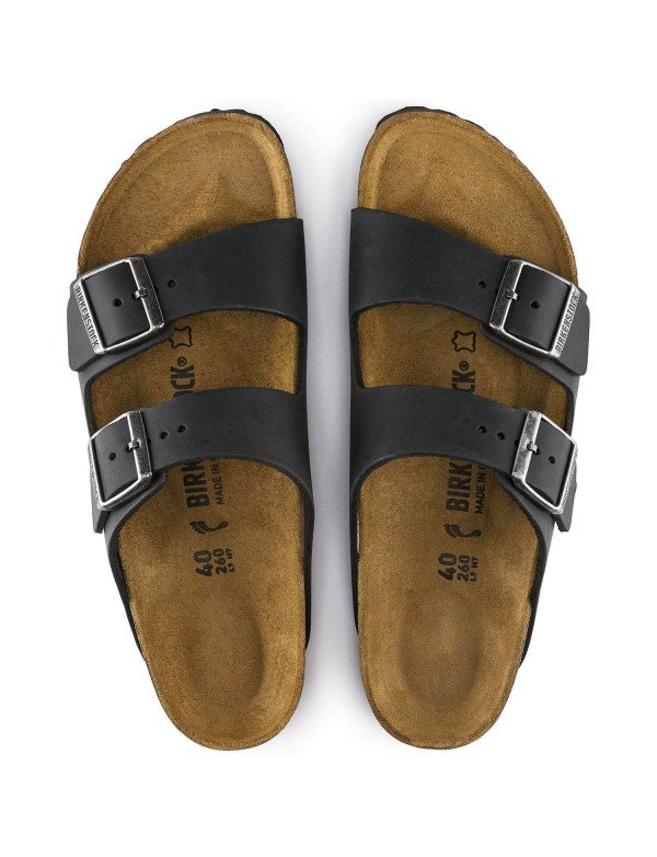 Birkenstock Arizona leather sandal, black
