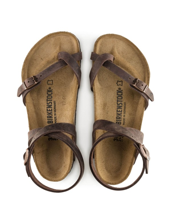 Birkenstock leather sandal, Yara
