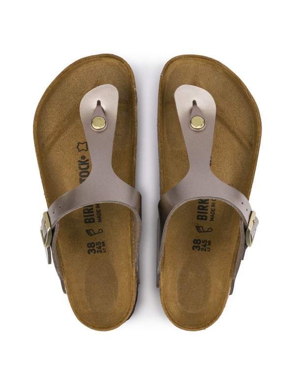Birkenstock Sandals Gizeh, taupe color
