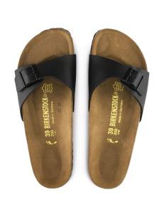 Birkenstock sandalo Madrid nero