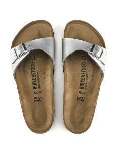 Birkenstock sandalo Madrid argento