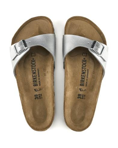 Birkenstock Madrid sandal, silver