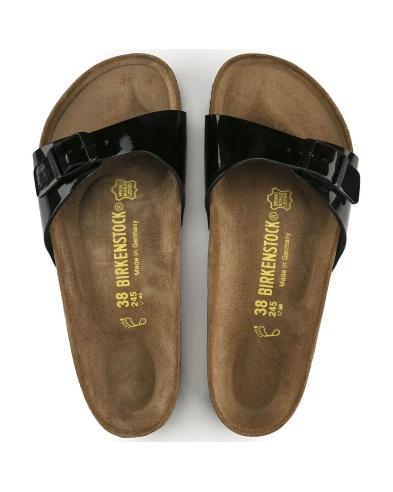 Birkenstock Madrid sandal, patent black