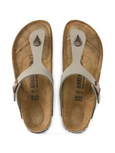 Birkenstock Gizeh thong sandal, stone