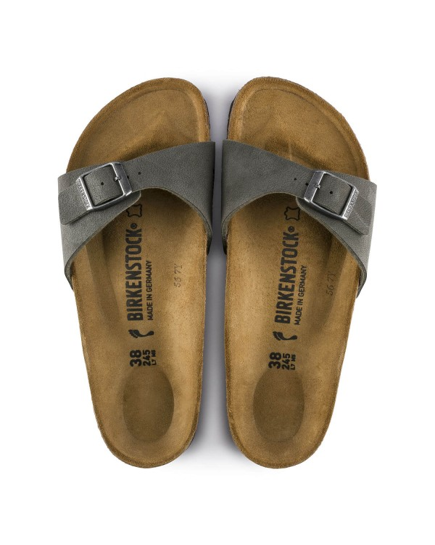 Birkenstock Madrid sandal, brushed smaragdgrun