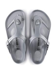 Sandali da spieggia Birkenstock EVA silver
