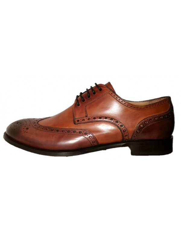 Italian wingtip shoes for men, made in Italy