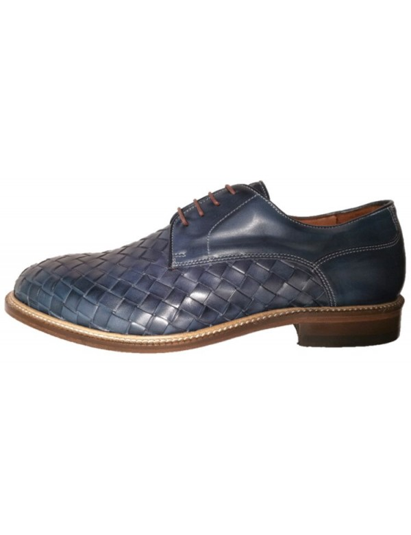 Italian cross suede leather shoes for men, by Brimarts