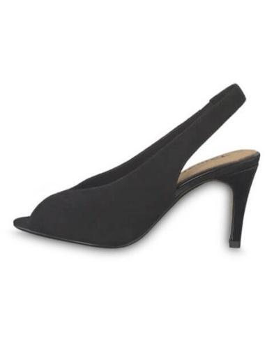 Peep toe chanel sandals, Tamaris