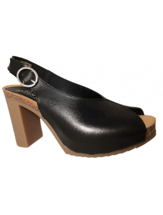 High heel chanel shoes