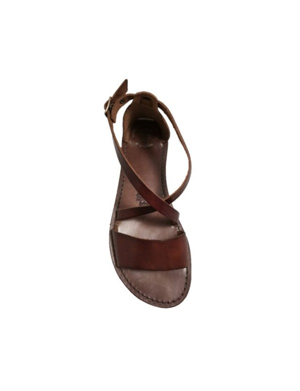 Florentine leather sandals for ladies, by Il Fiorino