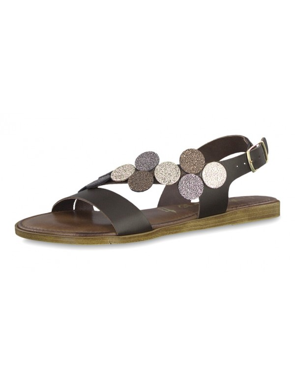 Flat Jewelled Sandals, Tamaris