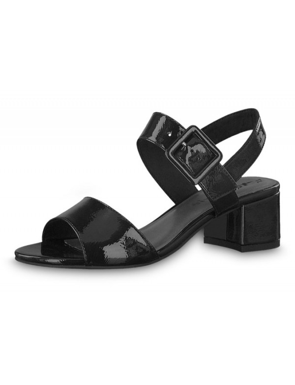 Patent Leather Sandals, Tamaris