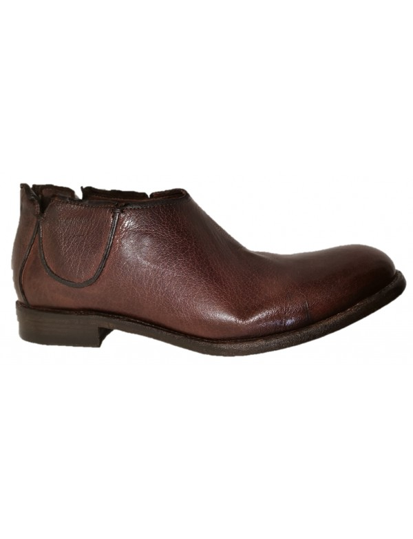 Ankle shoes for men, made in Italy by hundred 100