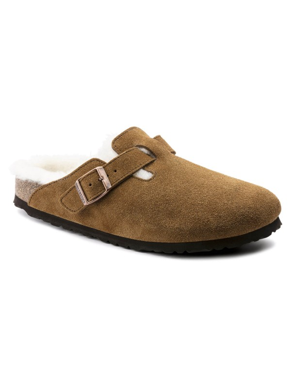 Birkenstock Boston with Fur