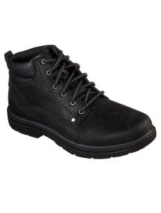 Skechers boots for men, Garnet, BBK