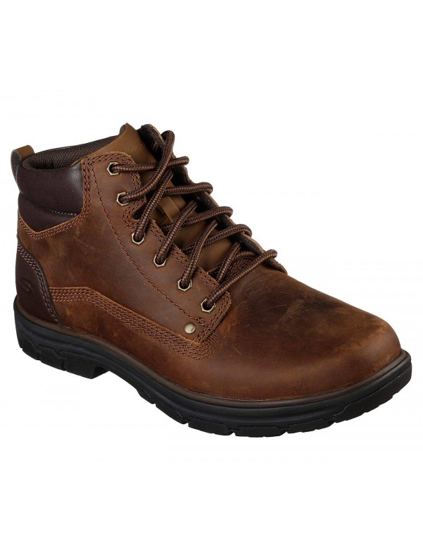 Skechers boots for men, Garnet, CDB