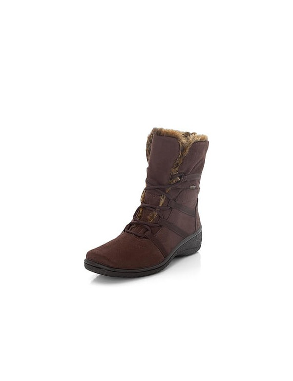 Low boots with fur and Goretex by Ara