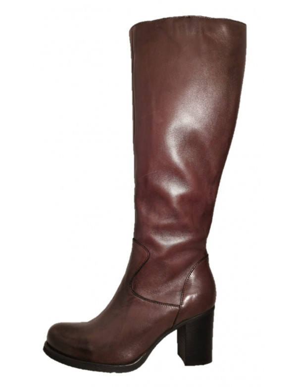 Italian high boots for ladies