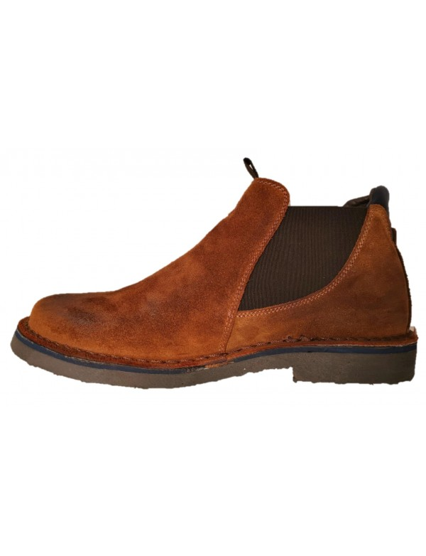 Italian suede leather shoes for men