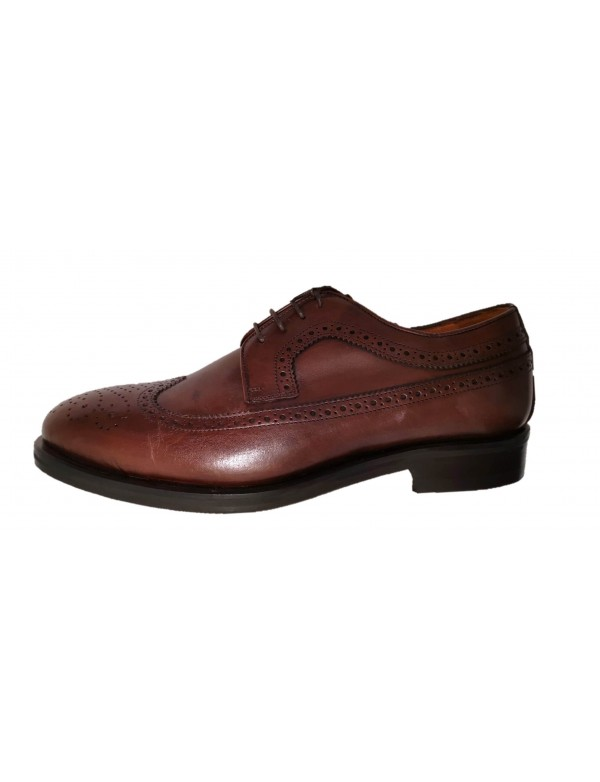 Mens wingtip shoes, made in Italy by Brimarts
