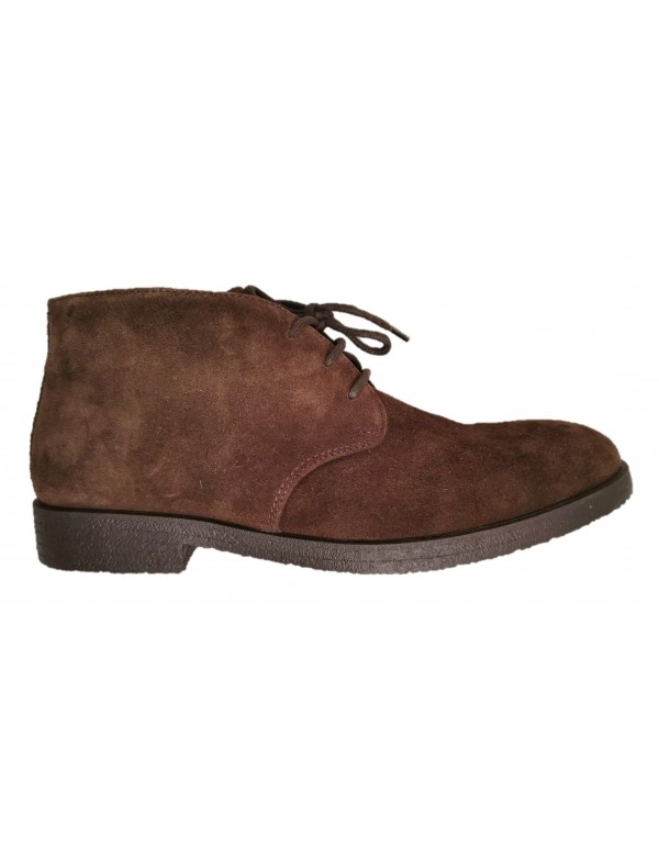 Italian suede boots, made in Italy