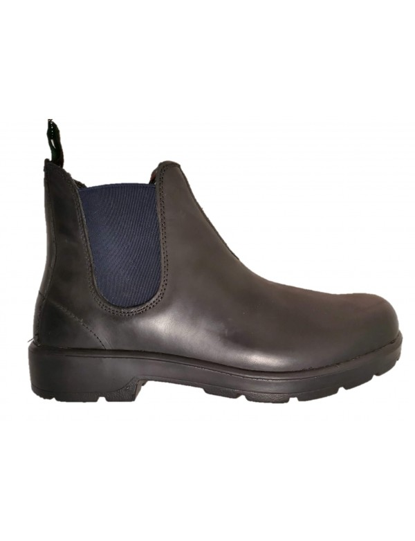 Comfortable black leather shoes for men