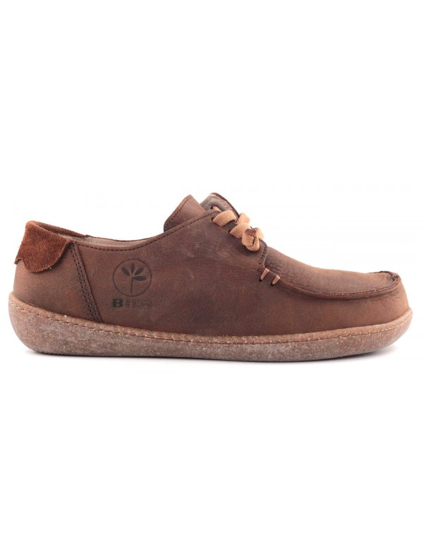 Shoes with cork sole