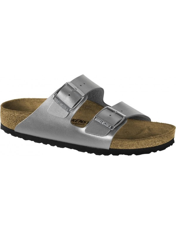Arizona Birkenstock Sandals, Silver